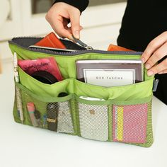 Slim Purse Organizer >> Awesome! Move it from purse to camera bag to backpack, so smart!