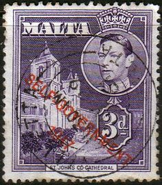 Malta 1948 King George VI Self Government Fine Used SG 240a Scott 239 Other European and British Commonwealth Stamps HERE!