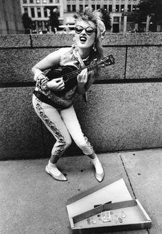 Rock it Cyndi Lauper style.