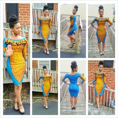African Sweetheart: Style: Ankara, Kente I- How To Look Effortlessly Glamourous In Casual African Prints African Inspired Fashion, African Print Fashion, Africa Fashion, African Print Dresses, African Fashion Dresses, African Dress, African Prints, Ankara Fashion, African Attire