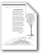 The Road Not Taken (A poem). Download it at Examville.com - The Education Marketplace. #scholastic #kidsbooks @Karen Echols #teachers #teaching #elementaryschools #teachercreated #ebooks #books #education #classrooms #commoncore #examville