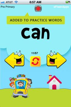 Learning Sight Words has never been so much fun! Using all touch features which kids love with playful sounds and professionally recorded voiceovers, this is a complete learning experience for any child who is beginning to learn Sight Words or looking to enhance vocabulary and memory.