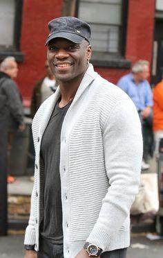 Adewale Akinnuoye-Agbaje Pictures - 'Annie' Films in NYC — Part 2 - Zimbio
