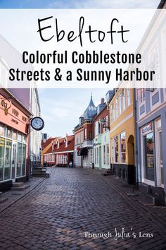 Ebeltoft, Denmark: Colorful Cobblestone Streets & a Sunny Harbor. Get Scandinavian travel tips for your Europe destinations bucket list itinerary. Visit Denmark, Denmark Travel, Travel Netherlands, Finland Travel, Europe Travel Guide, Travel Tips, Travel Guides, Travel Plan, European Destination