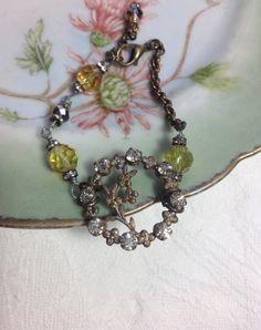 Delicate And Feminine Bracelet Assemblage by WishAnWearJewelry