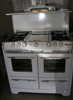 Double Ovens Stove And Gas Stove On Pinterest