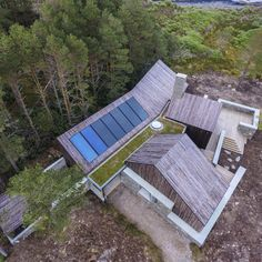 HaysomWardMiller - Self Sufficient House Sustainable Architecture, Amazing Architecture, Contemporary Architecture, Architecture Design, Pavilion Architecture, Contemporary Homes, Residential Architecture, Landscape Architecture, Home Building Design