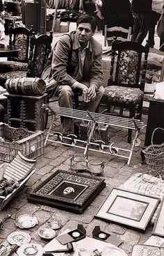 El Rastro vlooienmarkt - Madrid (Spanje)