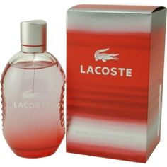 Lacoste Red Style In Play cologne by Lacoste. yeah i like to smell like a dude, so what?