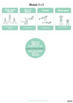 Exercices de sport ♥