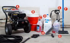 How to Pressure Wash Your House - Popular Mechanics...oh my god it already looks too complicated