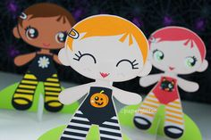 Do you like these? Doll is colored but you can color in the costumes