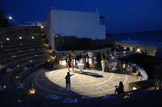 Mykonos Grand is a 5 star Mykonos luxury hotel resort & spa at Ayios Yiannis beach, Mykonos (Myconos), Greece. Experience the best luxury hotel in Mykonos. Mykonos Luxury Hotels, Myconos, Mykonos Island, Outdoor Stone, Five Star Hotel, Luxury Holidays, Grand Hotel, Holiday Destinations, Resort Spa