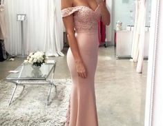 $199.00 Off Shoulder Mermaid Prom Dress,Mermaid Evening Prom Dress,Mermaid Bridesmaid Dress,Lace Prom Dress