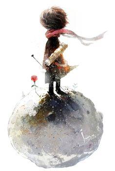 The Little Prince by Kang San (Jamsan), Korea