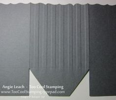 How to texture emboss on only part of the project. Example: stripes on one side of Fancy Favor box.