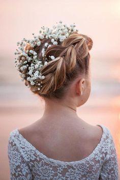 Cute Flower Girl Hairstyles ❤ See more: http://www.weddingforward.com/flower-girl-hairstyles/ #weddingforward #bride #bridal #wedding
