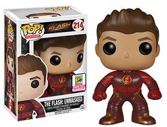 Flash TV series The Flash Unmasked Pop! figure by Funko, San Diego Comic Con 2015 exclusive