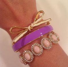 Lilly Pulitzer & Kate Spade bracelets