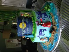 Peter Pan Cake, can't decide which cake to have made for Aaron's Peter Pan party.