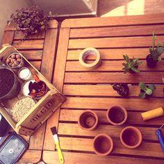 Produção da família barros para o @elo7br a todo vapor  #oitominhocas #maisverde #decoracaocriativa #elo7 #elo7br #suculenta #suculentasycactus