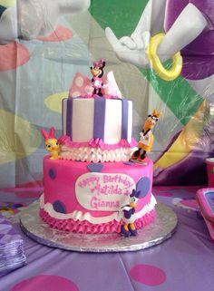 Bowtique Cake Stephanie Cain Minnies Birthday Bash