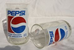 Oooh!  These are cool :)  Upcycled Glasses made from Pepsi Bottles set by ConversationGlass, $15.00