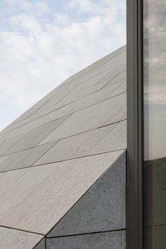 roof detail - apartment in Ghent Belgium by Vincent van Duysen