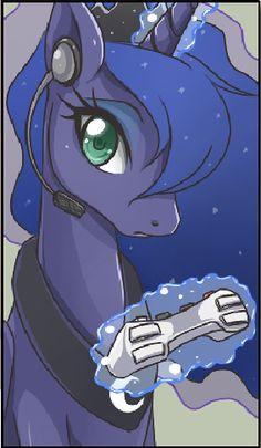 Gamer Luna on Pinterest | Princess Luna, My Little Pony ...