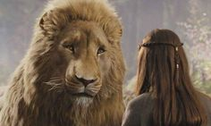 "Aslan - ""Things never happen the same way twice, Dear One."" <3"