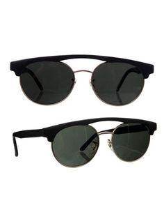 Vintage Pacific Star Black Bar Sunglasses | Shop American Apparel - StyleSays