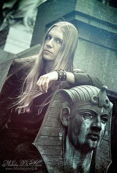 Namtar - Drummer of Carach Angren by Natalia Die Hexe, via Flickr