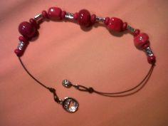 Glass jewelry made by Anita