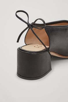 COS image 3 of Pumps with back-tie in Black