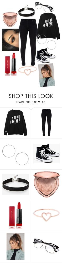 """""""my daily outfit"""" by aholabeth on Polyvore featuring Miss Selfridge, Madewell, Express, Too Faced Cosmetics, Max Factor, Love Is and NA-KD"""