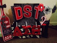 Delta sigma theta crossing gift diy baskets more pinterest diy probate gift dst probate crafts solutioingenieria Choice Image