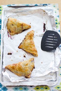 Peach Blueberry Turnovers | Rustic, homemade, and delicious.
