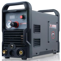 The new and improved model makes it more convenient and easier to use. Maximum Severance Cutting Thickness: in. 50 Amp Digital Air Inverter Plasma Cutter handles cuts up to Type: DC Air Plasma Cutter. Cheap Welders, Best Plasma Cutter, Tig Torch, Tig Welder, Gas Supply, Cutter Machine, Welding Machine, Machine Tools, Plasma Cutting