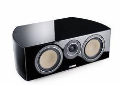 CANTON Reference K-50 Centre speaker ceramic drivers 87dB 26Hz-40kHz - Black | Audio Reference Co.