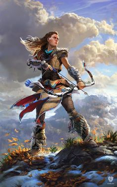'Horizon Zero Dawn: Aloy' by Guerrilla Games
