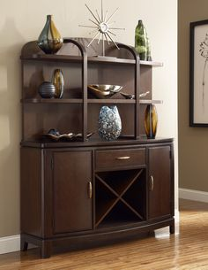 China Cabinet Staging #Inspiration by CORT | cort.com Boulevard China Cabinet