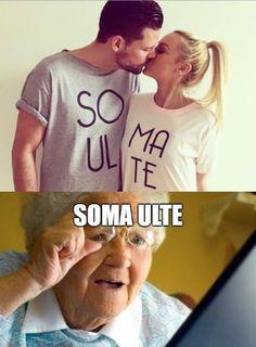 não tem como não rir desse meme da velhinha