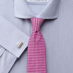 Bestwood blue hairline stripe non-iron extra slim fit shirt | Tailored fit dress shirts from Charles Tyrwhitt | CTShirts.com