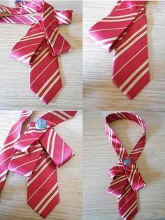 Update old ties. Tie Crafts, Sewing Crafts, Diy And Crafts, Sewing Projects, Old Ties, Diy Collier, Diy Accessoires, Women Ties, Diy Schmuck