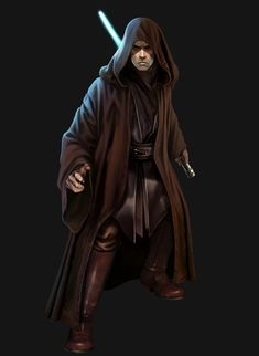 Is no one else noticing that the jedi and the sith wore and behaved almost exactly the same?  Except for Anakin,  he was the only true sith.  His power was rooted in passion..