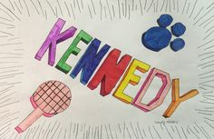 Kennedy M 1 point color