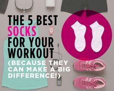 The 5 Best Socks for Your Workout (Because They Can Make a Big Difference!)  http://www.womenshealthmag.com/fitness/workout-socks