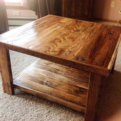 Pallet table - Reader's Gallery - Fine Woodworking