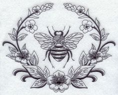 Laurel and Napoleonic Bee