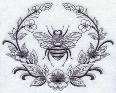 Laurel and Napoleonic Bee